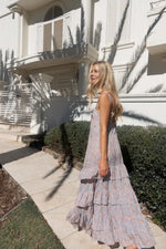 Roaming Maxi Dress in Perwinkle or Rose by Indian Summer