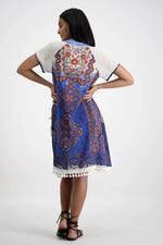 Sao Paolo dress in Barberton Print by Naudic