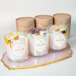 "Crystal Candles ""Twin Flame, Violet Flame, White Flame"" by ARCandles"
