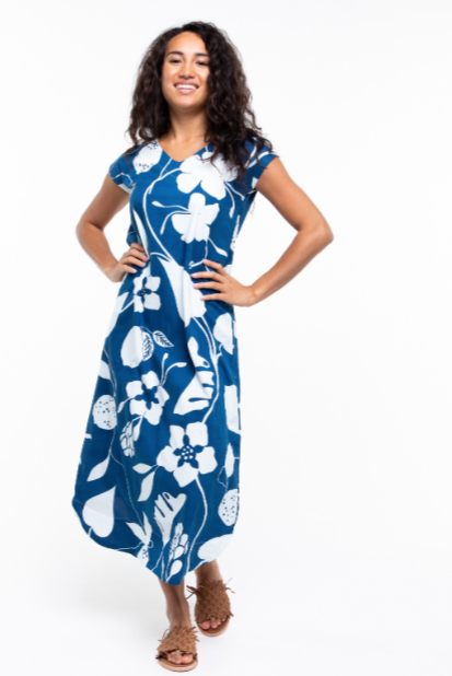 Kala Dress in Islander by Boom Shankar