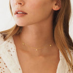 Silver Star Bright Necklace by By Charlotte