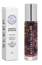 "Crystal Healing ""Sleep"" Essential Oil Roller 10ml by Summer Salt Body"