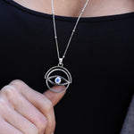 Spinning eye necklace by ToniMay