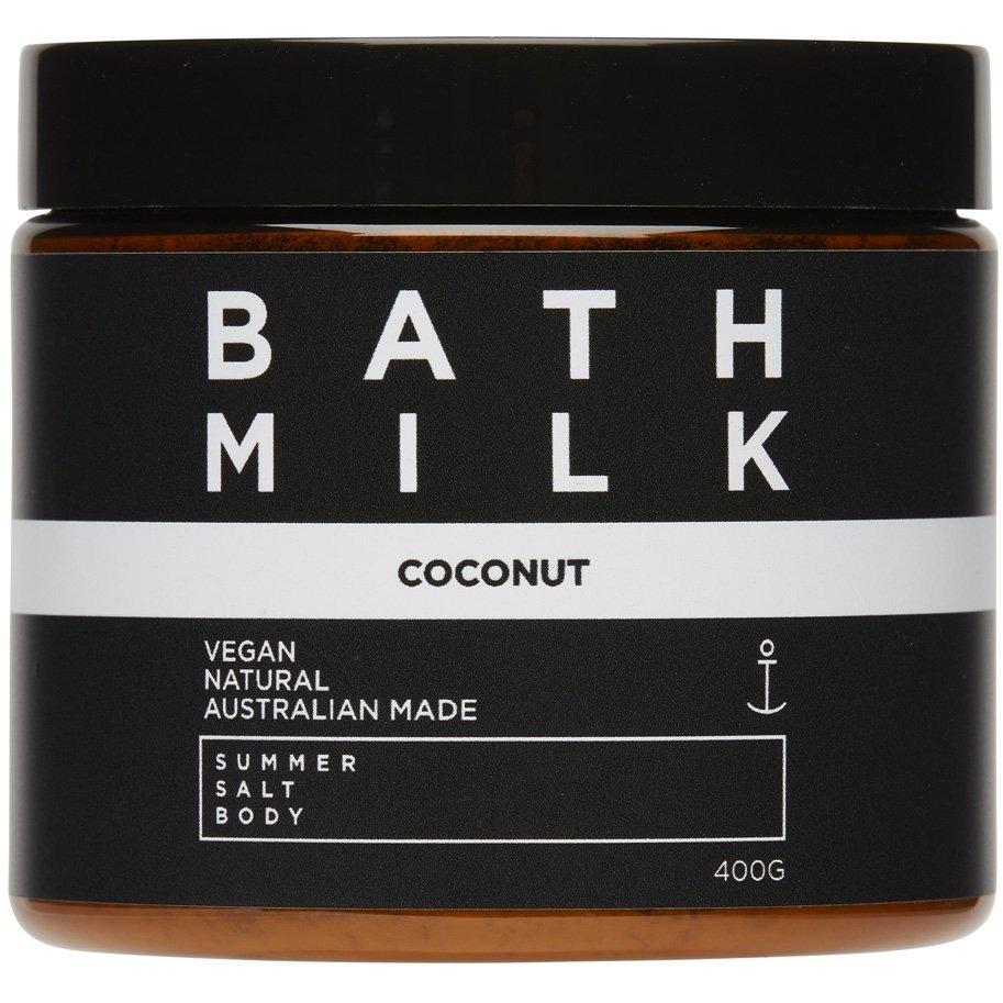 Coconut Bath Milk 400g Tub by Summer Body Salt