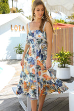 Vera Strap Dress in Palm Springs by Adrift Luxe