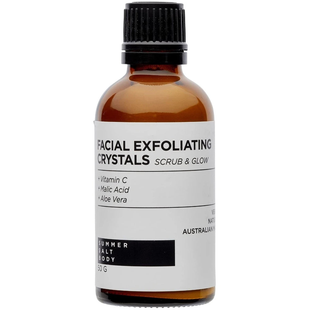 Facial Exfoliating Crystals 50g by Summer Salt Body