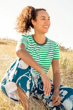 Pacifica Tee in Island Stripe by Boom Shankar
