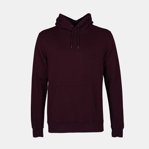 Classic Organic Hood Oxblood Red