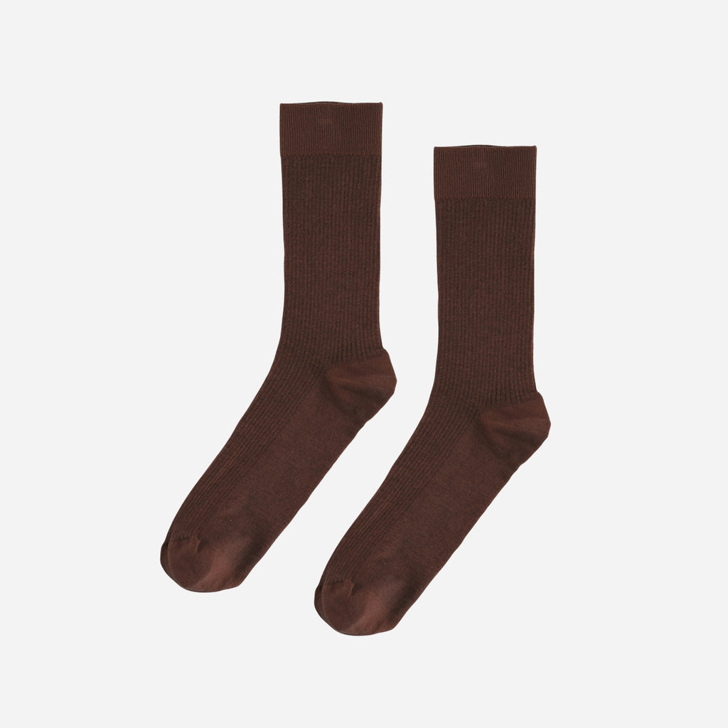 Classic Organic Sock Coffee Brown