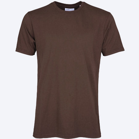 Classic Dye Organic Tee Coffee Brown