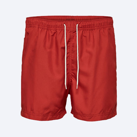 Classic Swim Shorts Red