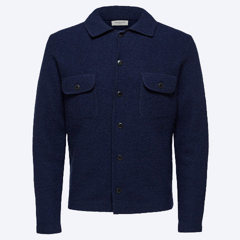 Neal Workwear Cardigan Navy
