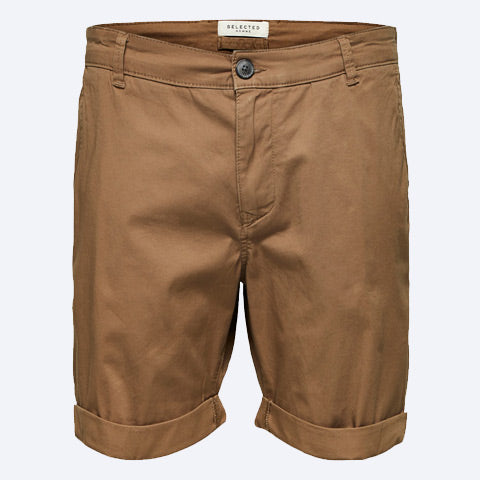 Paris Shorts Camel