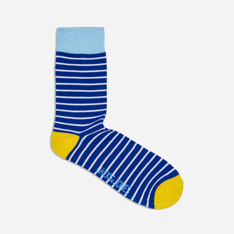 Twisted Sock Blue