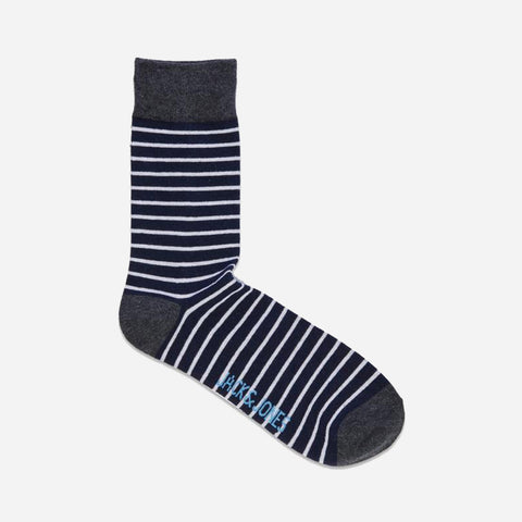 Twisted Sock Navy