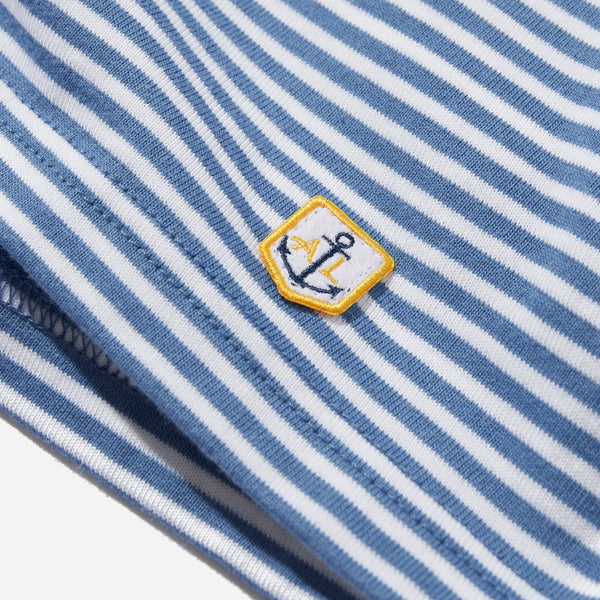 Heritage Striped T-Shirt Blue White