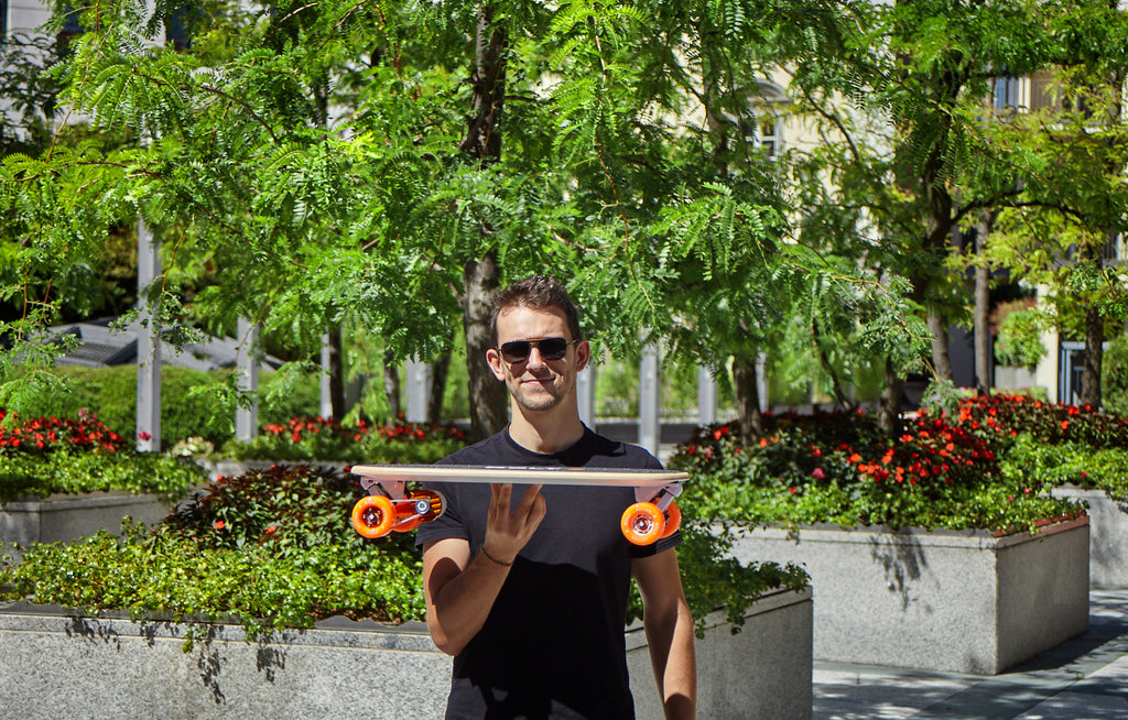 Bolt is the lightest electric skateboard in the world