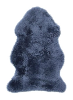 Sheepskin Throw Rug Navy