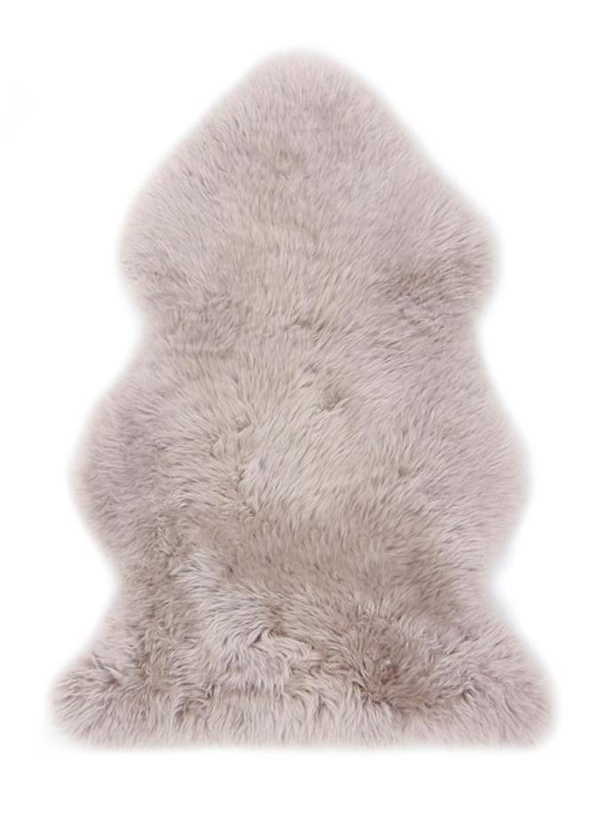 Sheepskin Throw Rug Blush