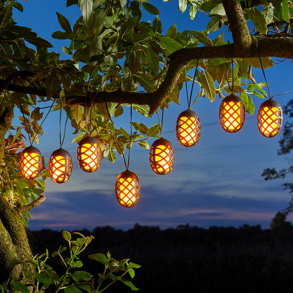 Solar Honey Comb String Lights