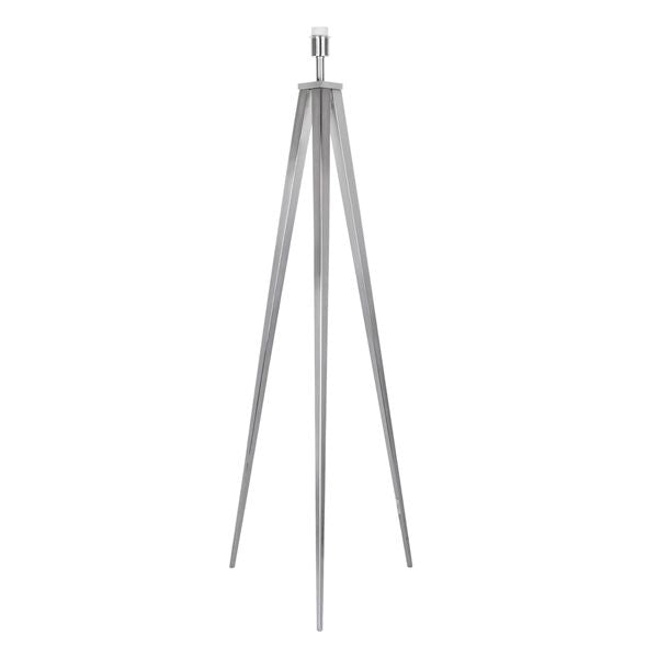 Chrome Point Tripod Floor Lamp