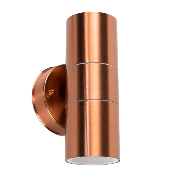 Double-Ended Wall Light Copper