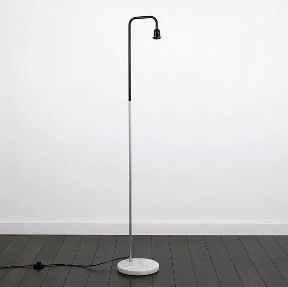 Geometric Floor Lamp Chrome