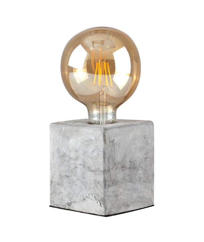 Concrete Cube Lamp