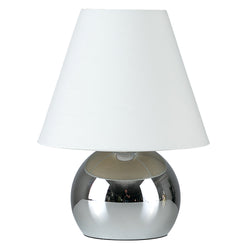Chrome Pebble Touch Table Lamp