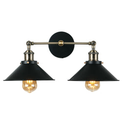 Arezzo Wall Light Black