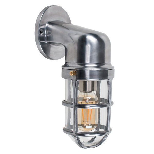 Fisherman Chrome Bulkhead Wall Light