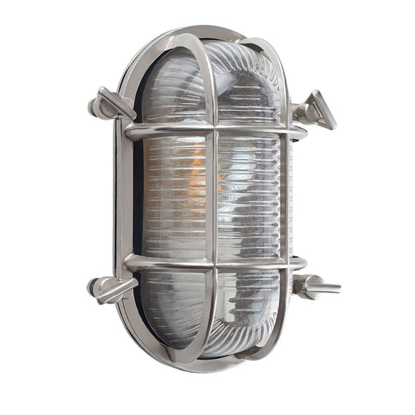Chrome Bulkhead Wall Light