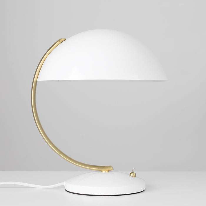 Crescent Satin Table Lamp