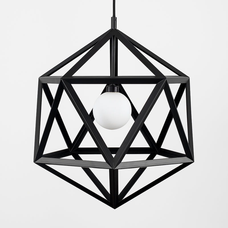 Cuban Star Pendant Black
