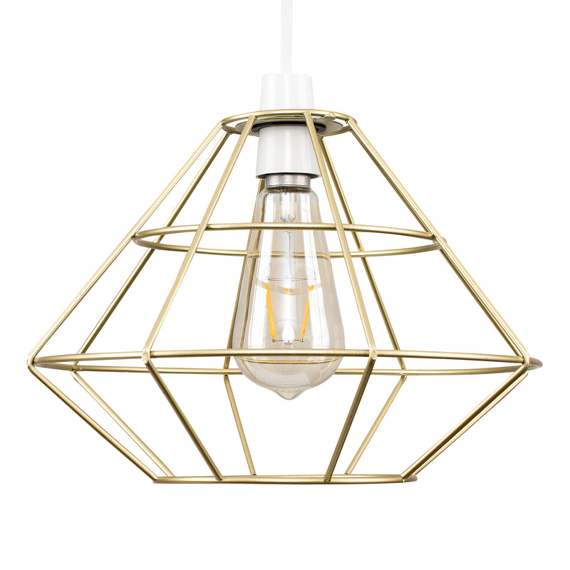 Geo Diamond Shade Gold