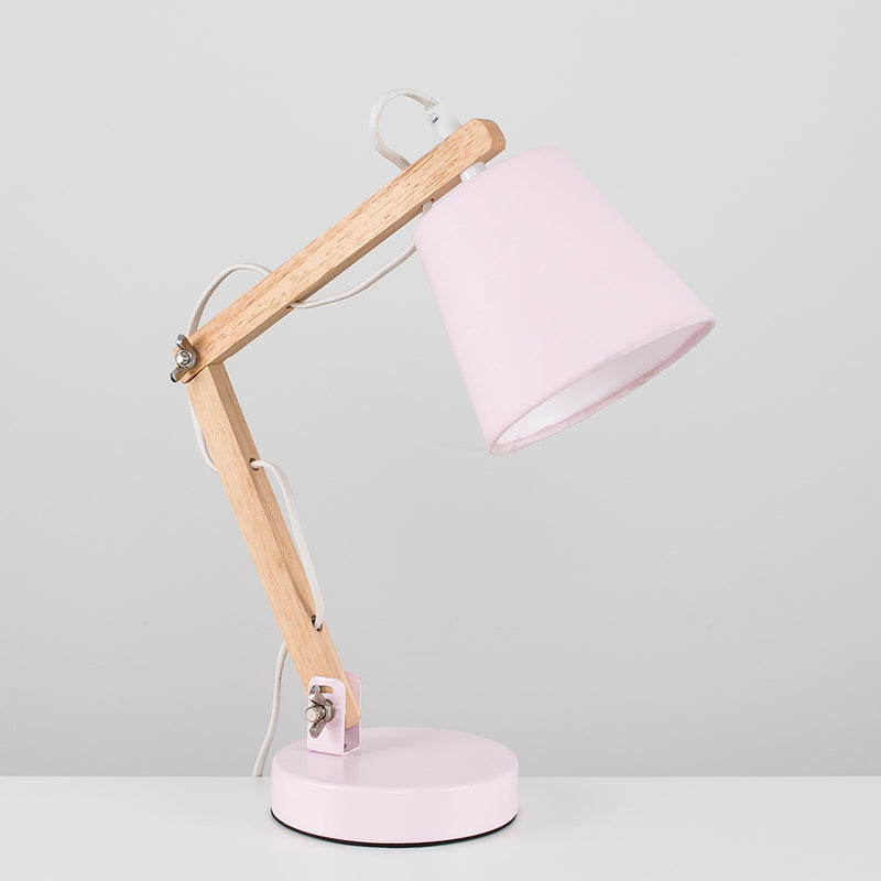 Flex Wood Table Lamp Pink