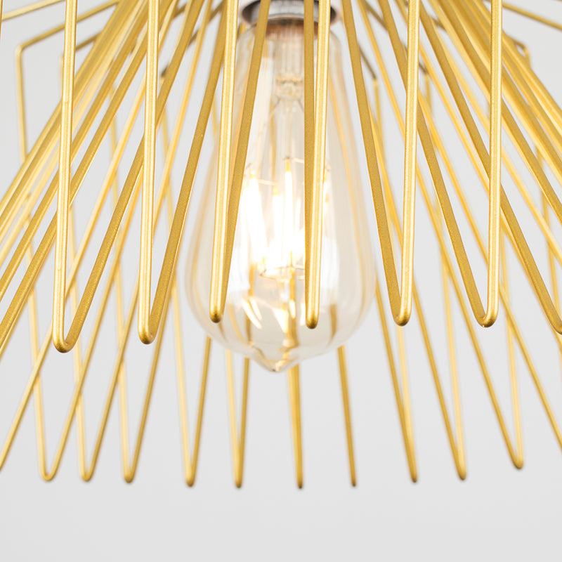 Wire Cage Shade Gold