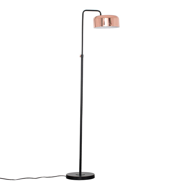 Copper Helmet Floor Lamp
