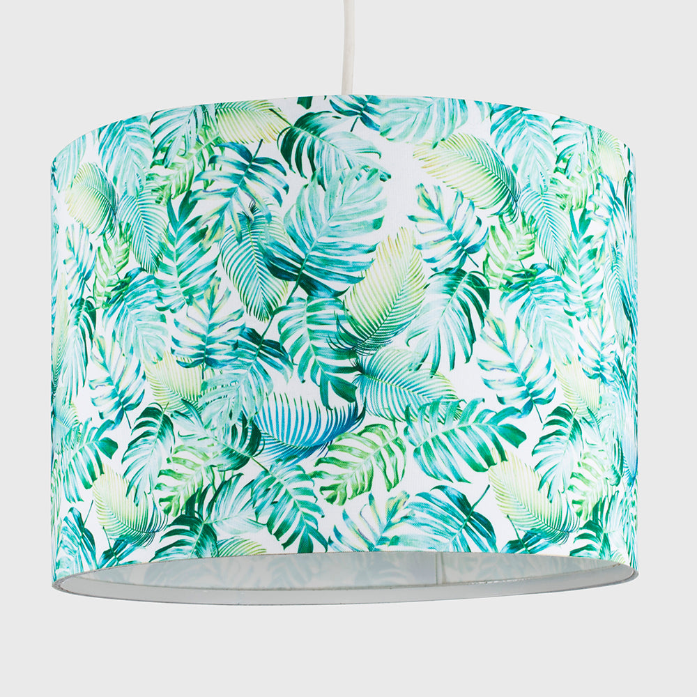 Tropical Canopy Drum Shade