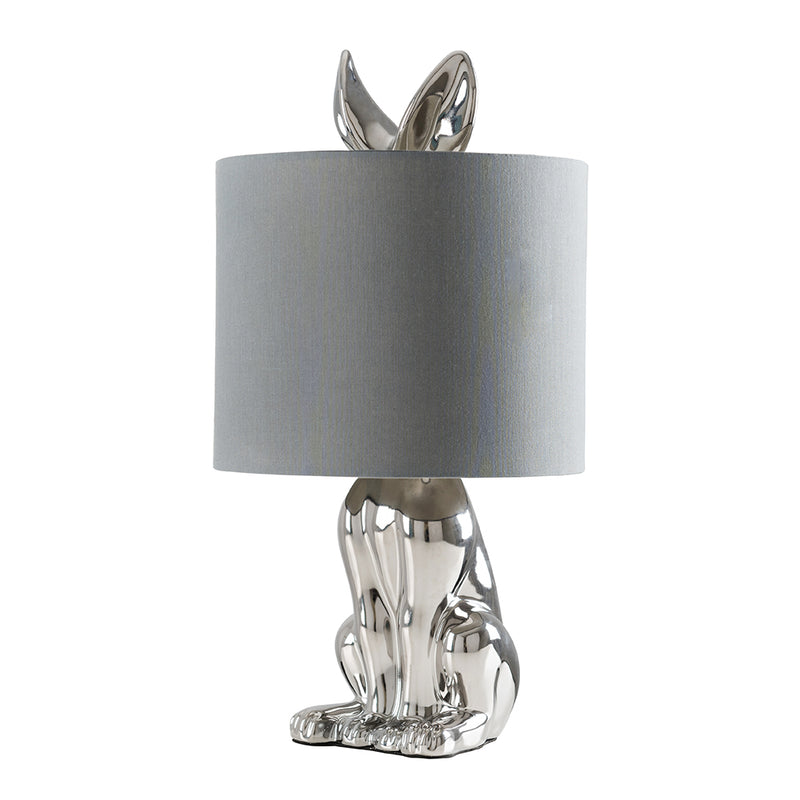 Rabbit Table Lamp Metallic