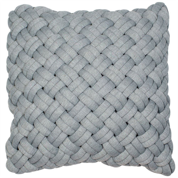 Oversized-Weave Cushion Filled 45cm