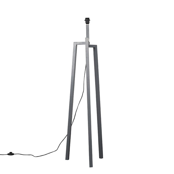 Modern Tripod Floor Lamp Grey