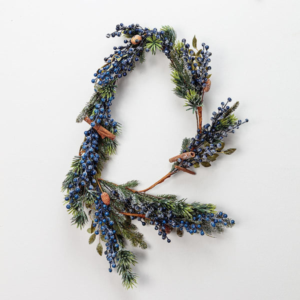 Blueberry Ice Garland 180cm