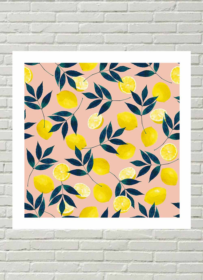 Lemony Goodness Print