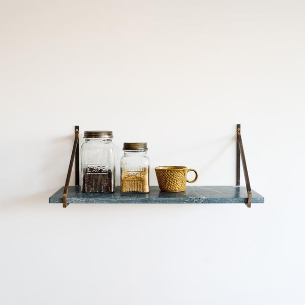 Marble Strap Wall Shelf
