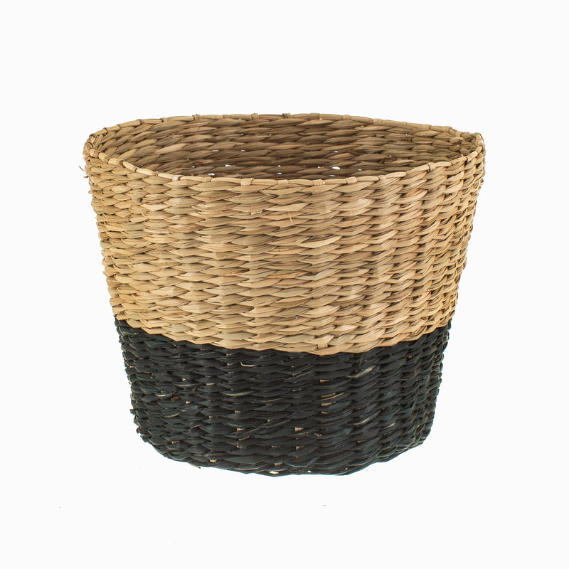Seagrass Basket Two-Tone