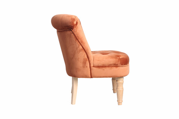 Frida Velvet Chair Burnt Orange