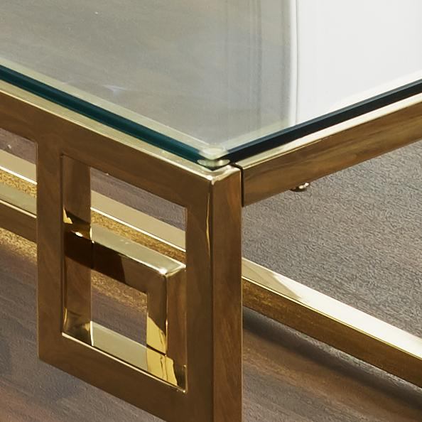 Gold Eros Coffee Table