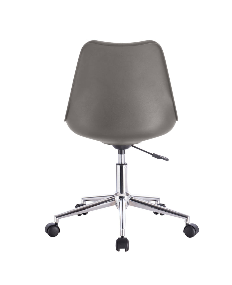 Scandi Wheelie Chair Steel Grey