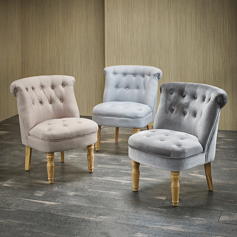 Frida Velvet Chair Grey
